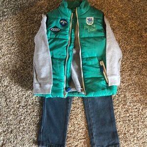 Other - Boys 4T pants/shirt/vest